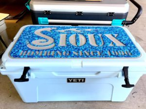 Yeti Cooler with SeaDek
